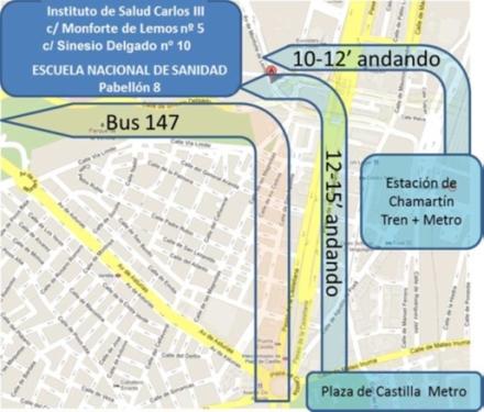 Mapa ISCIII